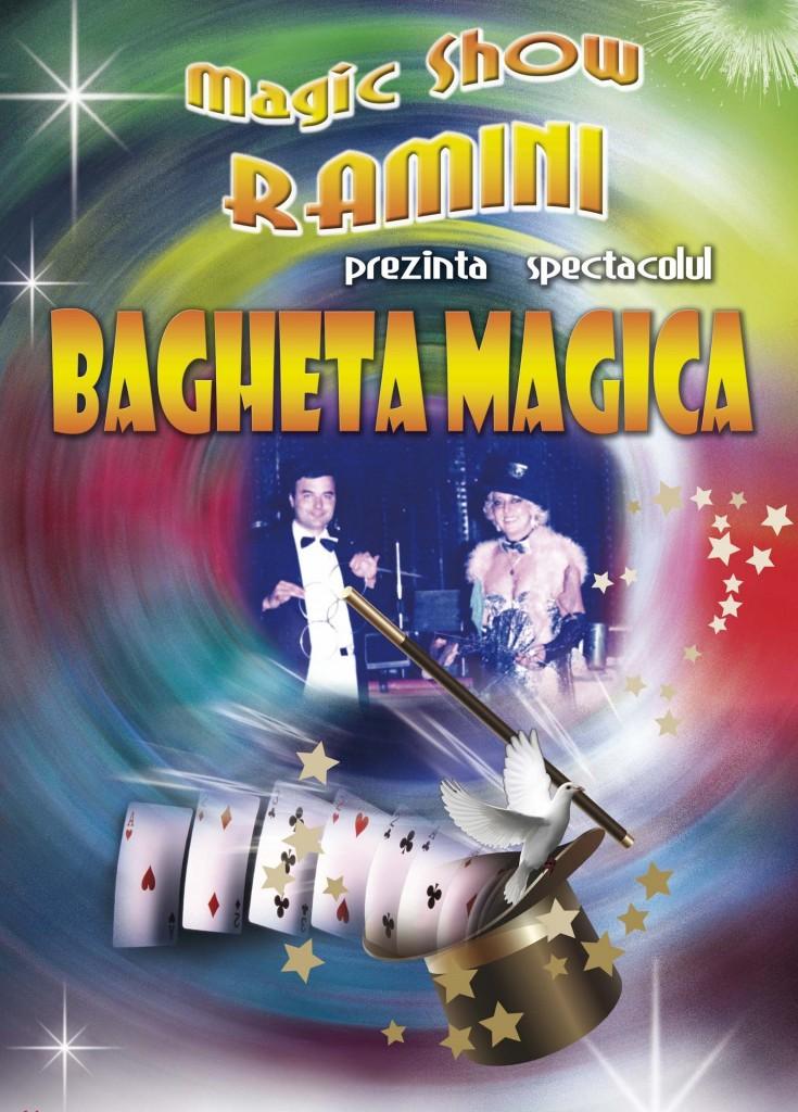 Spectacol magie Bagheta Magica Trupa Ramini