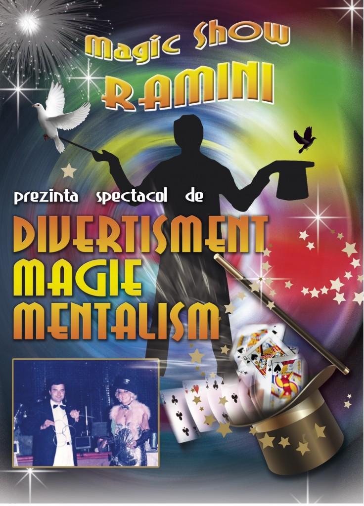Spectacol magie Penelopa Ramini si Mihai Ramini