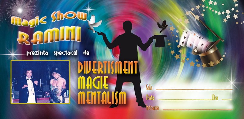 Magic Show Trupa Ramini Invitatie