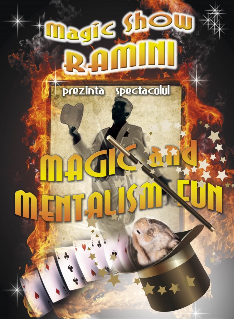 Trupa Ramini Show Magie Mentalism